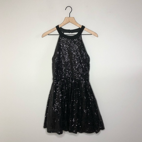 c067e0ba6 B Darlin Dresses | Nwt Be Festive Black Sequin Dress | Poshmark